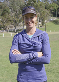 JusFitness' trainer Justine