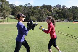 JusFitness kids fitness session